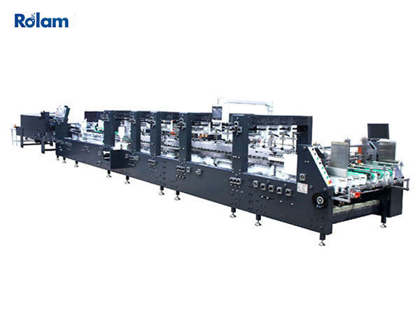 S SERIES Automatic High Speed (Speed-Wave) Folder Gluer