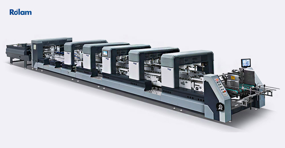 XL SERIES Automatic High Speed Intelligent 4-6 corner Folder Gluer