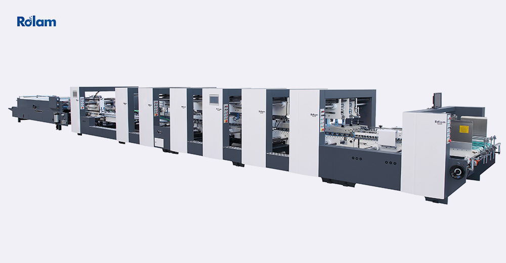 PCS SERIES Automatic Grouping 4 and 6 corner Folder Gluer